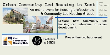 Urban Community Led Housing in Kent tickets