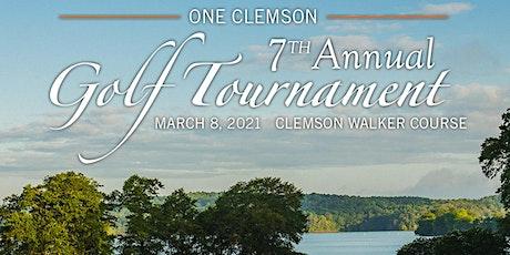 ONE Clemson Golf Tournament - Single Golfer tickets