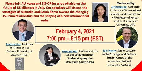 AU Korea: A Roundtable tickets