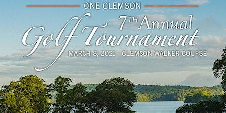 ONE Clemson Golf Tournament - Foursome tickets