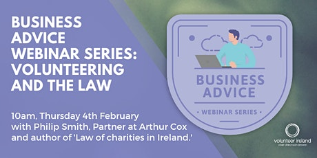 Business Webinar Series: Volunteering and the Law tickets