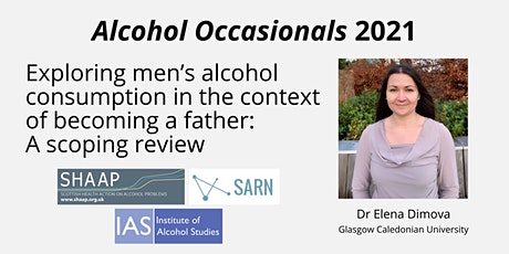 Alcohol Occasionals - Men's alcohol consumption when becoming a father tickets