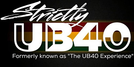 Strictly UB40 Live Eleven Stoke tickets