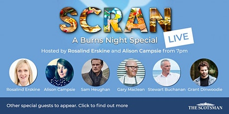 Scran LIVE: Burns night special tickets