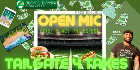 Tailgate 4 Taxes OPEN MIC tickets