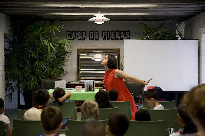 Imagen de TE LO CUENTO EN CASA, sesión Zoom de cuentos en familia por Inma Muñoz