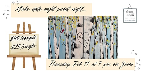 Birch Trees Paint Night tickets