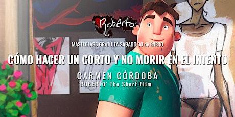 Masterclass Carmen Córdoba boletos