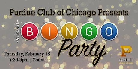 Virtual Bingo Night for Purdue Club of Chicago tickets