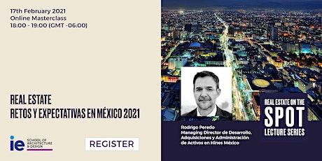 Real Estate: Retos y expectativas en México 2021 tickets