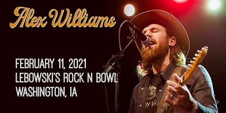 Alex Williams in Washington, IA tickets