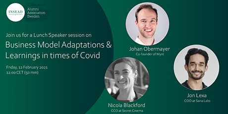 Business Model Adaptations & Learnings in times of Covid billets