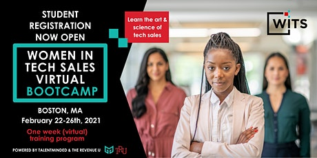Women in Tech Sales Bootcamp (Virtual) - Boston - February, 2021 tickets