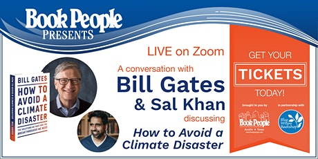 BookPeople + Blue Willow Bookshop Present: An Evening with Bill Gates tickets