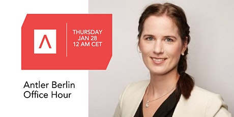 Antler Berlin Office Hour with Marie Louise Sunde from Equality Check tickets