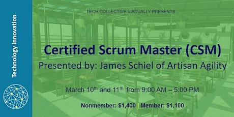 Certified Scrum Master (CSM) tickets