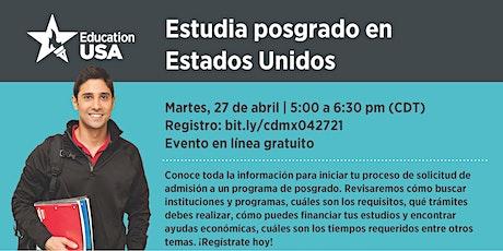 Estudia Posgrado en Estados Unidos entradas
