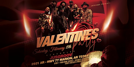 """JusGroov"" Valentines Party tickets"