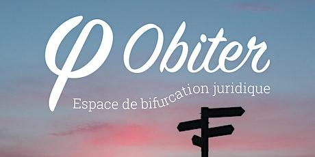 Obiter - Espace de bifurcation juridique billets