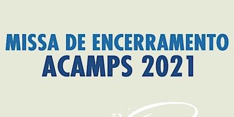 Missa Acamp's Brasilia- 30/06 ingressos