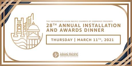 28th Annual Installation and Awards Dinner biglietti