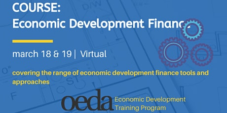 COURSE: Economic Development Finance (Virtual) tickets