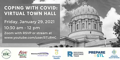 Coping with COVID: Virtual Town Hall tickets
