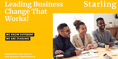 Leading Business Change That Works! tickets