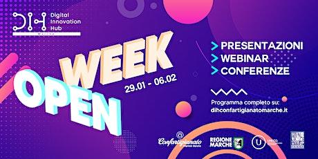 Open week digital Innovation Hub Confartigianato Imprese Marche biglietti
