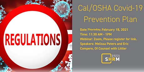 Cal/OSHA COVID-19 Prevention Plan – What Employers Need to Know tickets