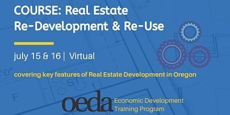 COURSE: Real Estate Re-Development and Re-Use (Virtual) tickets