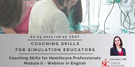 Coaching Skills for Simulation Educators tickets