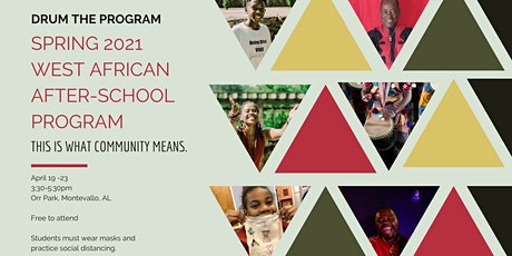 Spring 2021 West African After-School Community Program tickets