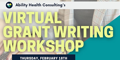 Virtual Grant Writing Workshop tickets