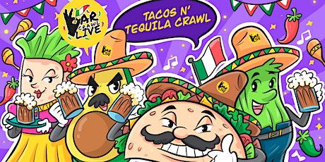 Tacos N' Tequila Crawl | Baltimore, MD - Bar Crawl Live tickets