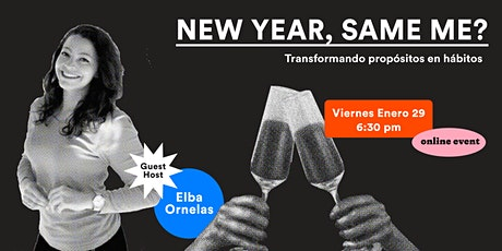 New Year, Same Me? Transformando propósitos en hábitos. boletos