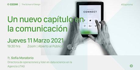 →  Un nuevo capítulo en la comunicación entradas