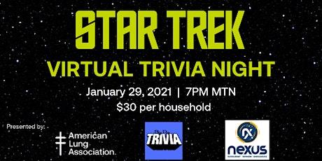Virtual Star Trek  Trivia Night tickets