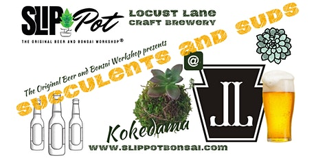 Succulents and Suds: A Kokedama Workshop at Locust Lane tickets