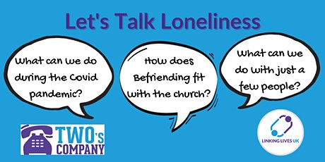 Let's Talk Loneliness - Lincolnshire tickets