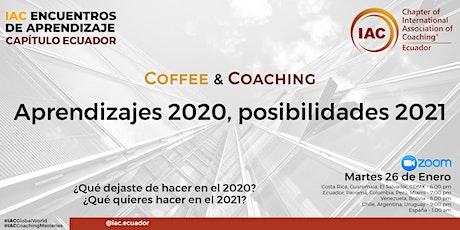 COFFEE & COACHING. Aprendizajes 2020, posibilidades 2021 entradas
