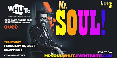 WHUT Screening and Panel Discussion  of  Mr. Soul! tickets