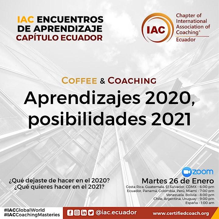 Imagen de COFFEE & COACHING. Aprendizajes 2020, posibilidades 2021