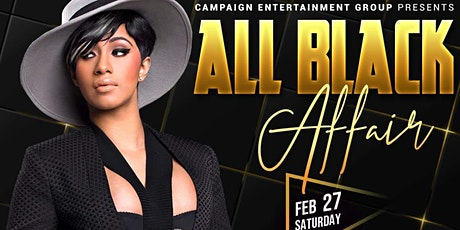 All Black Affair tickets