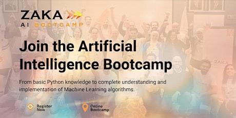 Zaka Artificial Intelligence Bootcamp biglietti