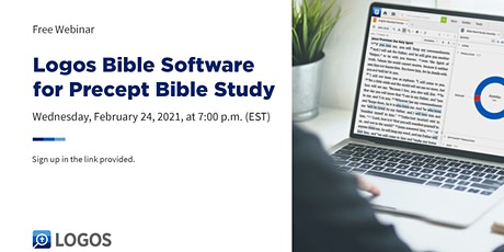 Logos Bible Software for Precept Bible Study tickets