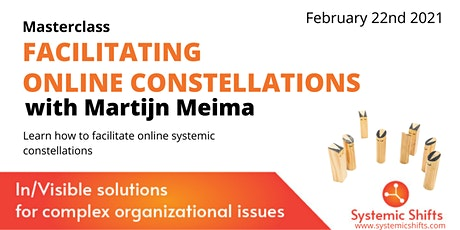 Masterclass Facilitating Online Systemic Constellations with Martijn Meima Tickets