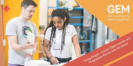 Young People - Career Opportunities and Progression Routes into the Sector tickets