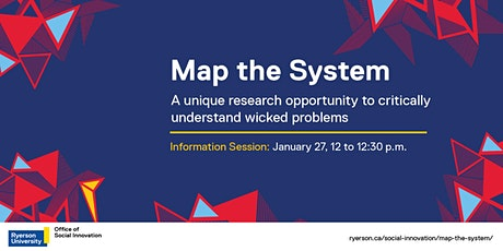 Map the System 2021: Ryerson Info Session tickets