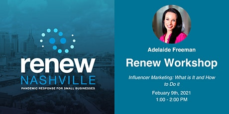 Influencer Marketing: What is it + How to do it tickets
